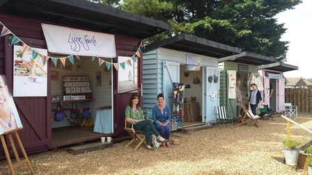 Pop up shops at Burnham Deepdale are growing in popularity. Picture: LIBRARY.