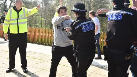 Norfolk Special Constables take part in an intensive training event where they get to be assessed on