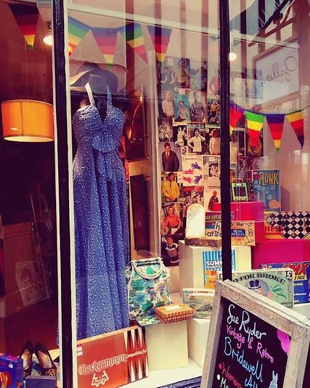 The shopfront of Sue Ryder's store in Bridewell Alley, Norwich. Picture: Courtesy of Sue Ryder