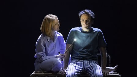 Harry Potter and the Cursed Child at the Palace Theatre in London. Photo: Manuel Harlan. L-R Poppy