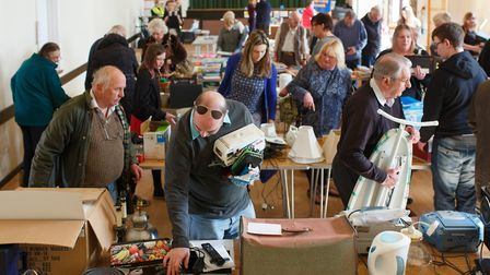 South Norfolk Council'�s reuse and recycle event in Ditchingham.