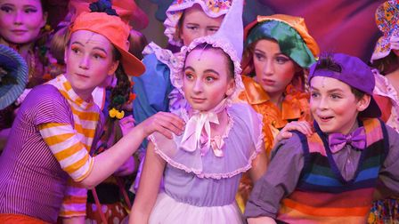 Scenes from the DOSYTCo performance of Wizard of Oz. Picture: GORDON OLLEY.