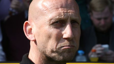 Reading manager Jaap Stam suffered a heavy defeat at Carrow Road. Picture: Paul Chesterton/Focus Ima