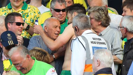 Norwich City captain Russell Martin gave his shirt to the family of loyal club stalwart Peter Oldfie