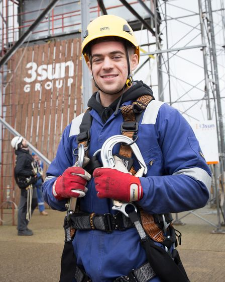 Training at the 3sun Academy. New 3Sun Group recruit Curtis Robinson is about to start his first job