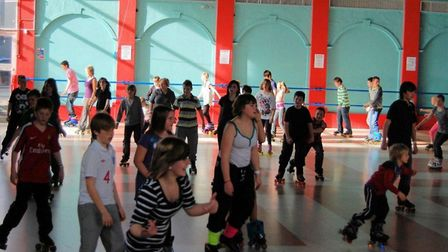 Library image of the rollerskating venue used by Retroskate at the Marina Centre. Photo: Archant Lib