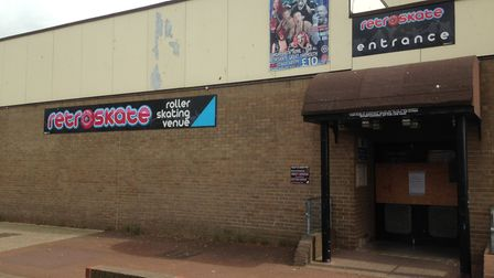 Retroskate in Great Yarmouth boarded up. Picture: George Ryan