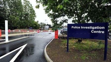 Martlesham police investigation centre. Picture: LUCY TAYLOR