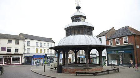 North Walsham town centre. Picture: MARK BULLIMORE