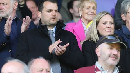 Norwich City's new sporting director Stuart Webber took in his first Carrow Road game since his appo