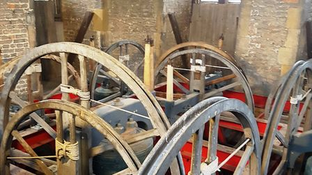 Inside Beccles Bell Tower