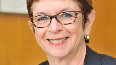Dr Wendy Thomson, managing director of Norfolk County Council. Picture: Simon Finlay