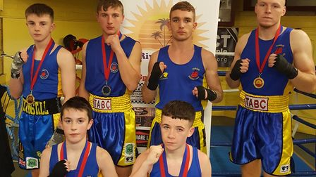 Torbay ABC gold and silver medal winners