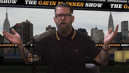 Proud Boys founder Gavin McInnes on television