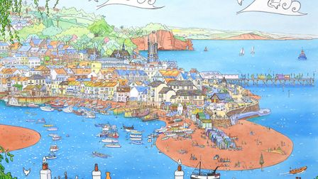 Laura Wall's scene of Teignmouth
