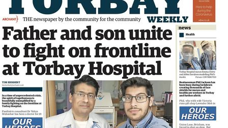 Torbay Weekly front page