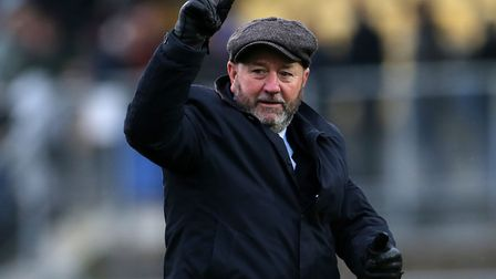 Gary Johnson, manager of Torquay United Picture: Cameron Geran/PPAUK