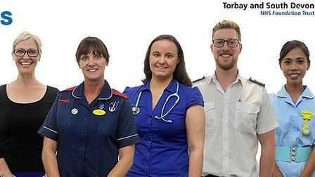 A JustGiviing page has been set up to raise funds for the NHS in Torbay