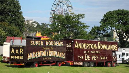 Anderton and Rowlands fair at Torre Abbey