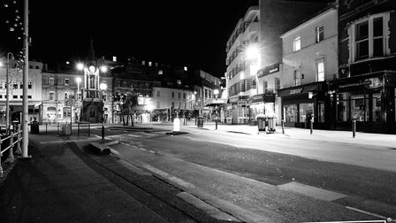 A strangely quiet Torbay during lockdown Photo: Shot by Rob 4699-2