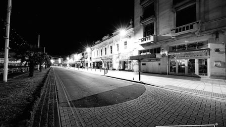 A strangely quiet Torbay during lockdown Photo: Shot by Rob 4695-2