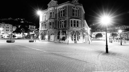 A strangely quiet Torbay during lockdown Photo: Shot by Rob 4679-2