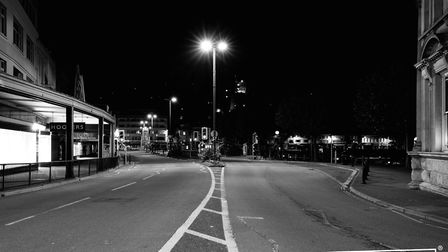 A strangely quiet Torbay during lockdown Photo: Shot by Rob 4671-2