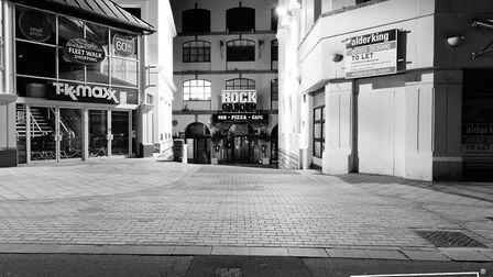 A strangely quiet Torbay during lockdown Photo: Shot by Rob 4666-2