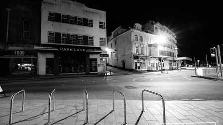 A strangely quiet Torbay during lockdown Photo: Shot by Rob 4704-2