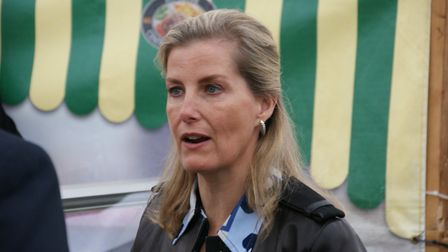 Sophie, Countess of Wessex, at Devon County Show 2017