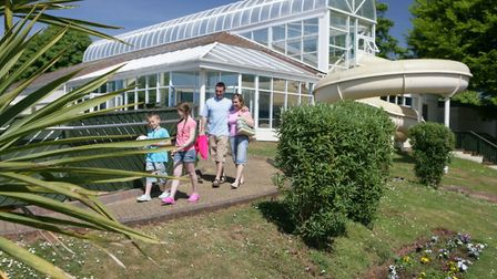 The Torquay Holiday Park pictured before the Lockdown