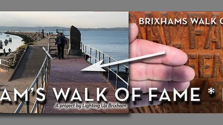 Brixham 'walk of fame' will be a feature on the Breakwater