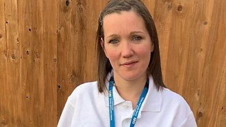 Jenny King has switched from nursery nurse to community support