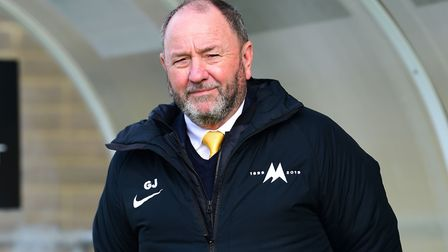 Gary Johnson, manager of Torquay United Photo: Micah Crook/PPAUK