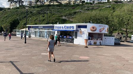 The Paignton Pier Chippy Company venture across the Bay to Torquay and Pier Point