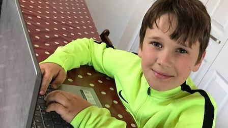 Oliver Nixon from White Rock Primary