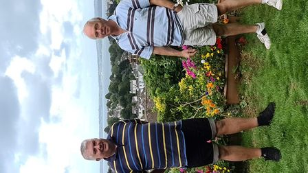 Disappointed Torquay Christmas Carnival organisers Mike Bailey (left) and Stephen Holdup