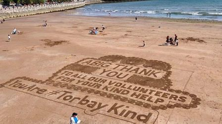 A tribute to those who volunteer in Torbay