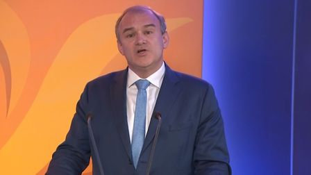 Ed Davey, the leader of the Liberal Democrats