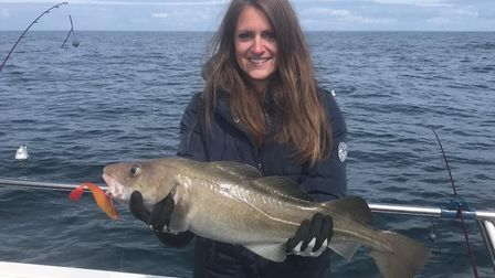 Lucy Spice caught a cod