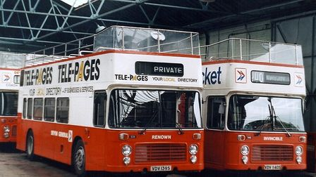 Open-top buses have been in service in Torbay since 1955