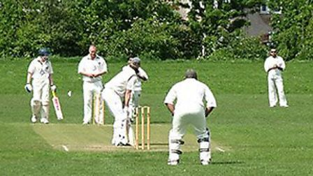 Action from Torquay Cricket Club