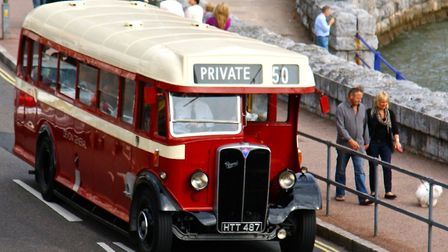 A lovely old Devon General ARC bus on Torquay seafront
