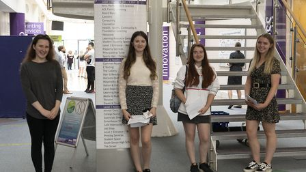 A-level students at South Dveon College