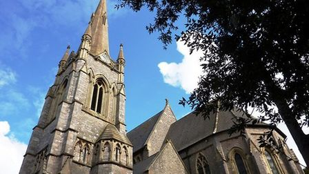 Rev Sam Leach will climb 165ft to the top of his church spire
