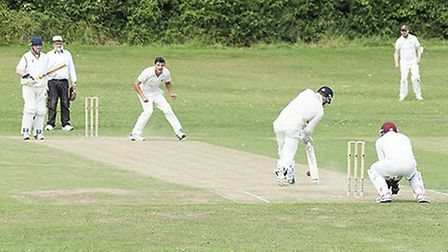 Action from Barton Cricket Club