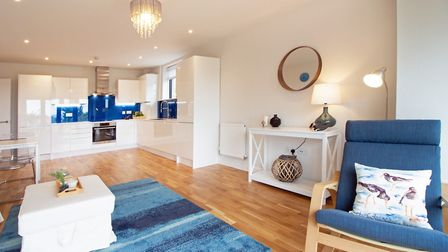A spacious apartment at Maidencombe