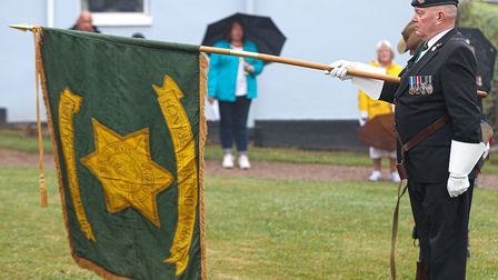 The Burma Star 75th anniversary also marked the closing of the Burma Star Association Torbay and dis