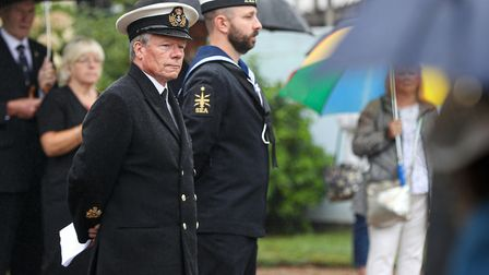 The Burma Star 75th anniversary service was held in memory of all those who suffered and died while