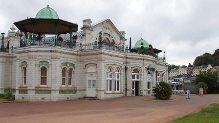 Torquay Pavilion Photo: David Hawgood